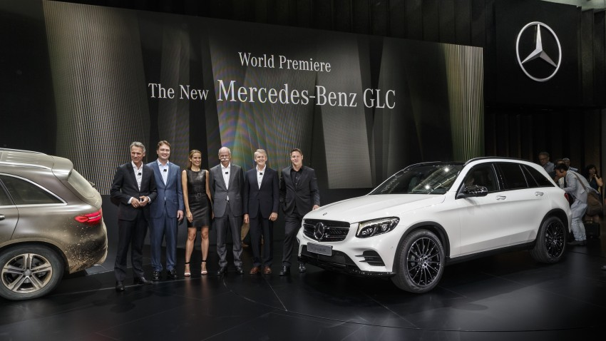 Mercedes-Benz GLC unveiled – the SUV sweet spot? Image #352598