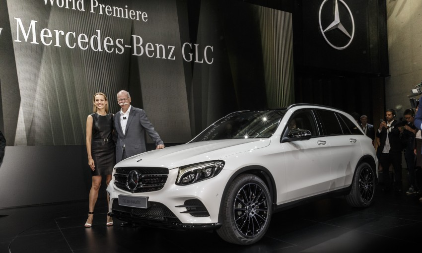 Mercedes-Benz GLC unveiled – the SUV sweet spot? Image #352599