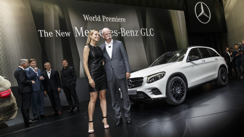 Mercedes-Benz GLC unveiled – the SUV sweet spot? Image #352600