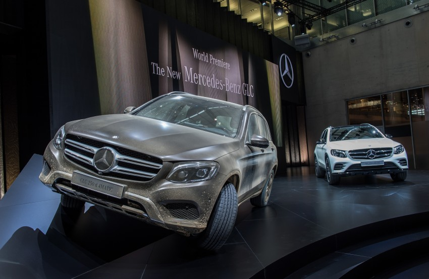 Mercedes-Benz GLC unveiled – the SUV sweet spot? Image #352605