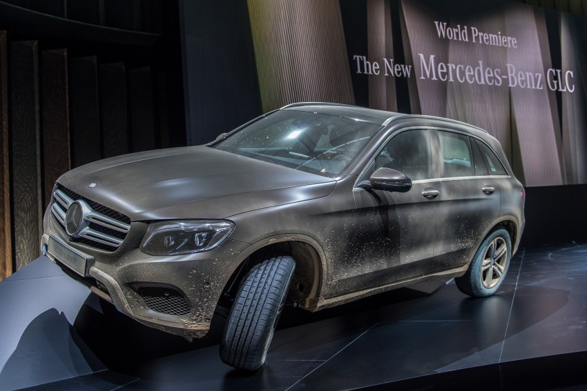 Mercedes-Benz GLC unveiled – the SUV sweet spot? Image #352607