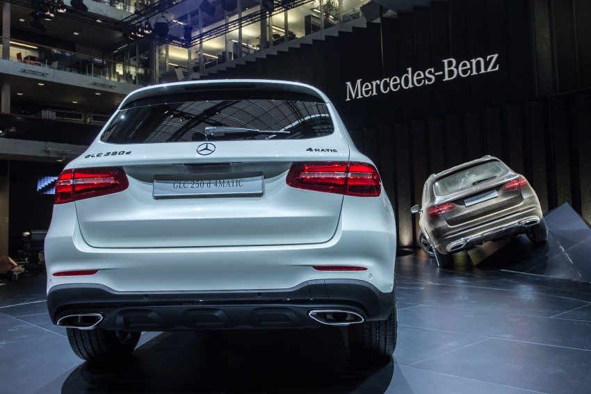 Mercedes-Benz GLC unveiled – the SUV sweet spot? Image #352613