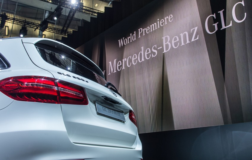 Mercedes-Benz GLC unveiled – the SUV sweet spot? Image #352611