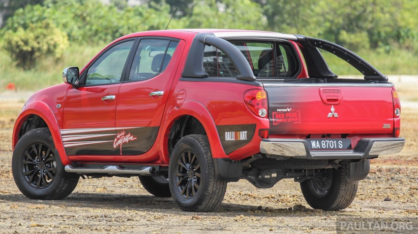 GALLERY: New and old Mitsubishi Triton, side-by-side Image #346683