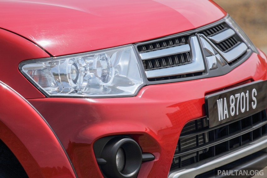 GALLERY: New and old Mitsubishi Triton, side-by-side Image #346674