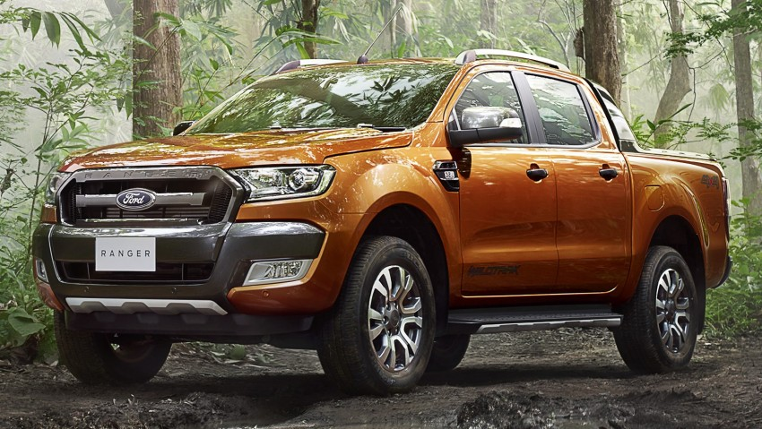 Ford Ranger Wildtrak facelift unveiled with new tech Image #348618