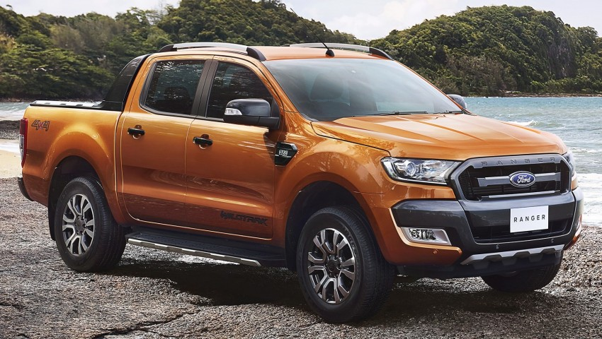 Ford Ranger Wildtrak facelift unveiled with new tech Image #348605