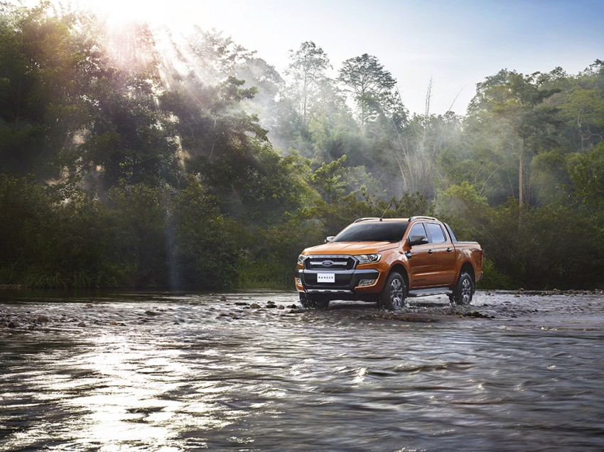 Ford Ranger Wildtrak facelift unveiled with new tech Image #348608