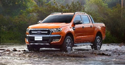 Ford Ranger Wildtrak facelift unveiled with new tech Image #349073