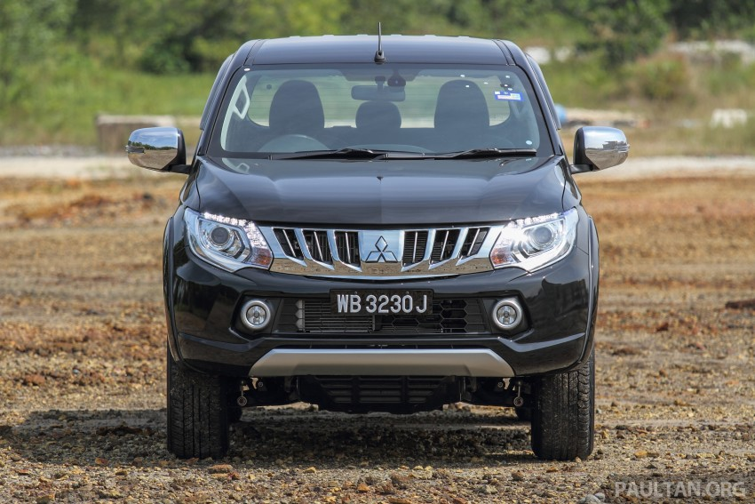 GALLERY: New and old Mitsubishi Triton, side-by-side Image #346610
