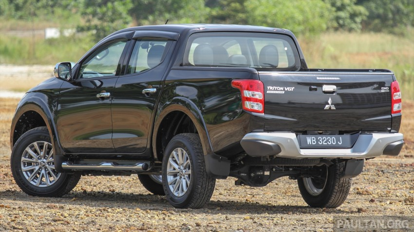 GALLERY: New and old Mitsubishi Triton, side-by-side Image #346624