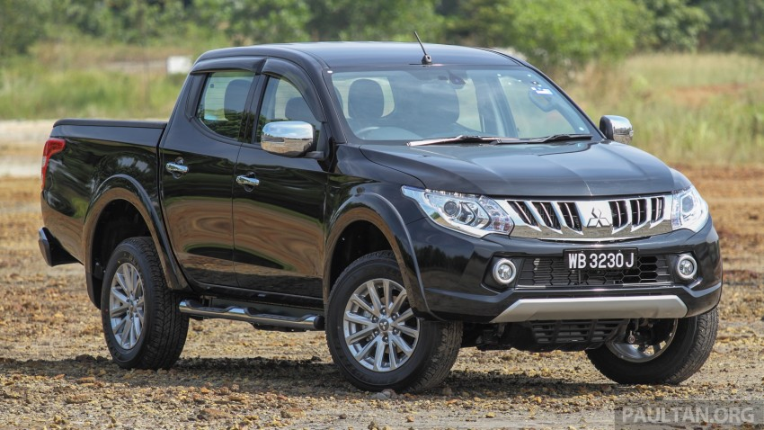 GALLERY: New and old Mitsubishi Triton, side-by-side Image #346611