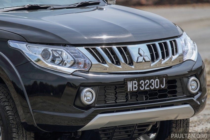 GALLERY: New and old Mitsubishi Triton, side-by-side Image #346634