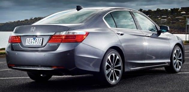 2015 Honda Accord Sport Hybrid Australia 7