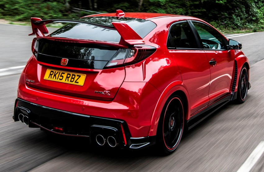 2015 Honda Civic Type R detailed for the Euro market Image #345458