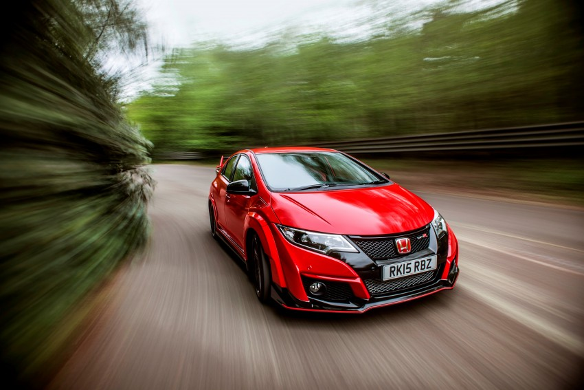 2015 Honda Civic Type R detailed for the Euro market Image #345459