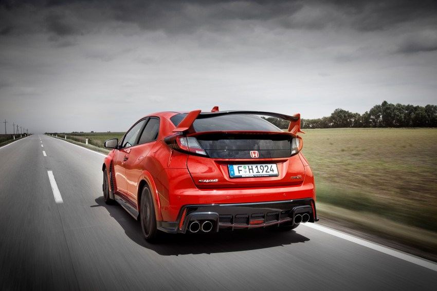 2015 Honda Civic Type R detailed for the Euro market Image #345844