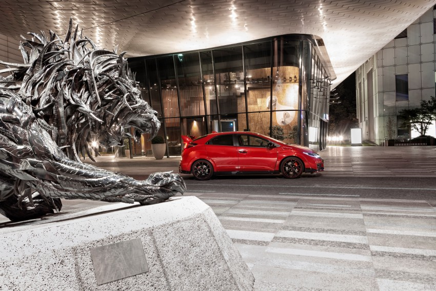 2015 Honda Civic Type R detailed for the Euro market Image #345849