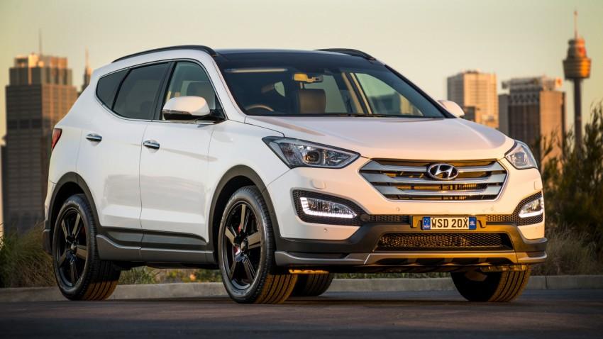 2015 Hyundai Santa Fe SR unveiled for Aussie market Image #352911