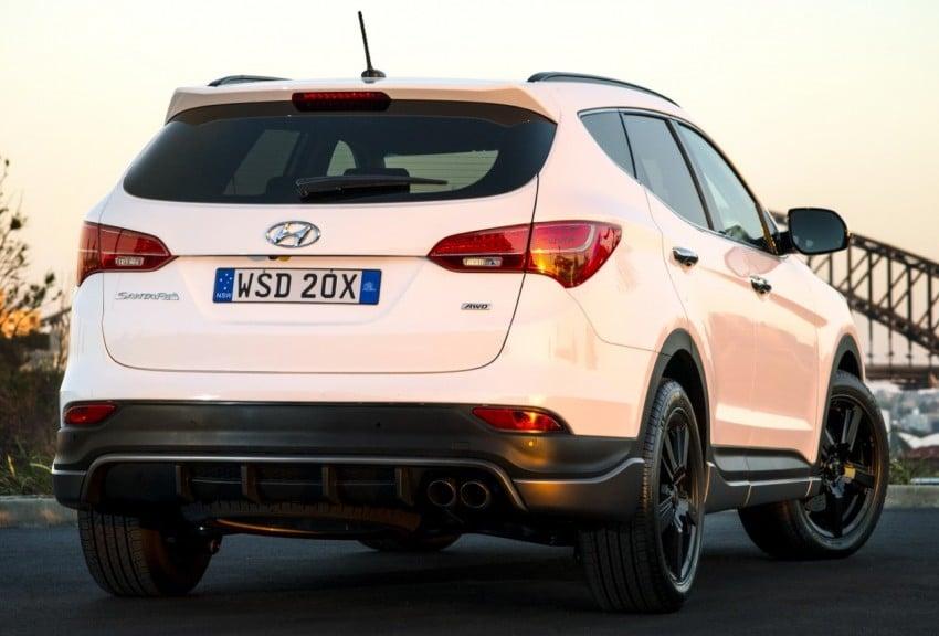 2015 Hyundai Santa Fe SR unveiled for Aussie market Image #352912