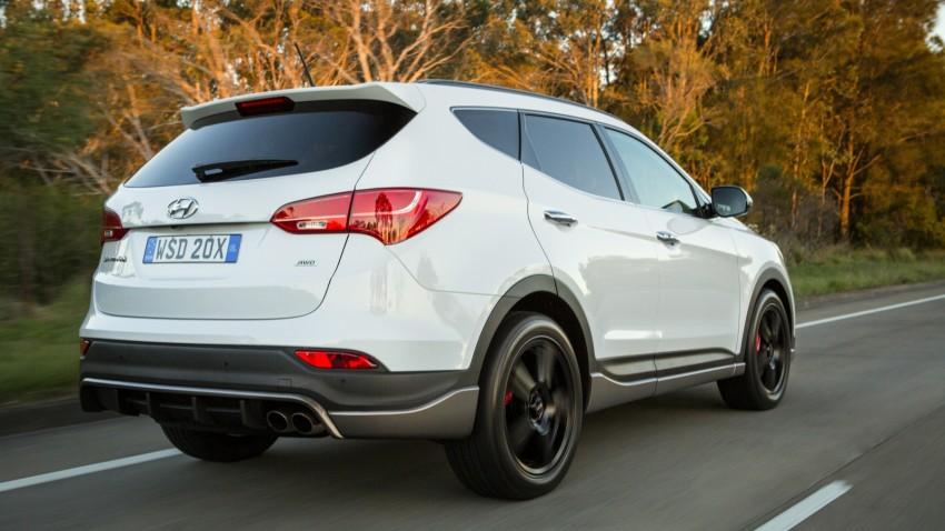 2015 Hyundai Santa Fe SR unveiled for Aussie market Image #352905
