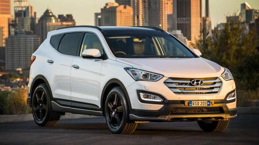 2015 Hyundai Santa Fe SR unveiled for Aussie market Image #352910