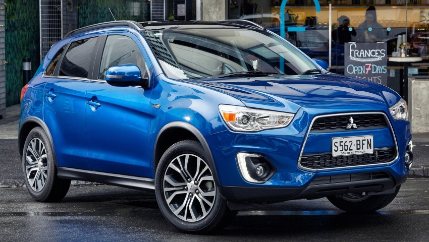 2015 Mitsubishi ASX gets refreshed Down Under Image #346729