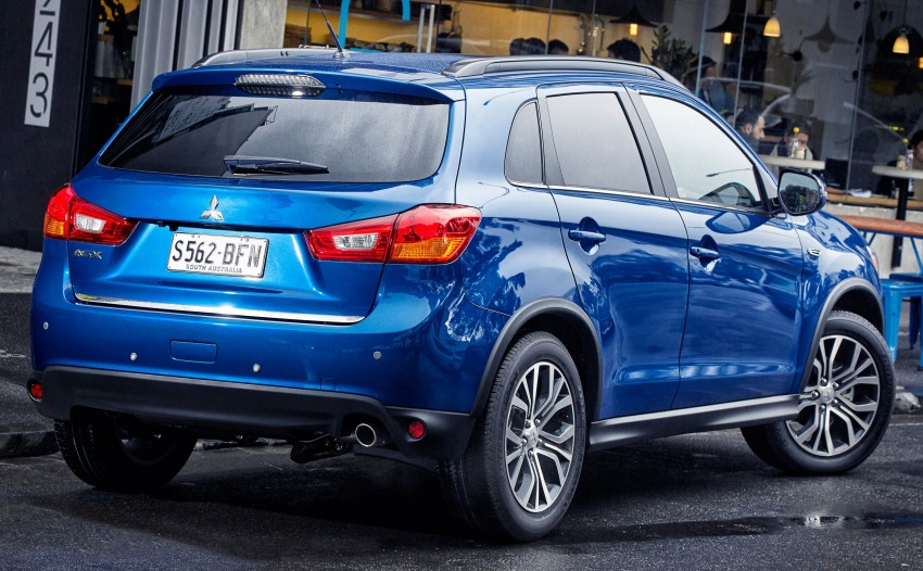 2015 Mitsubishi ASX gets refreshed Down Under Image #346730
