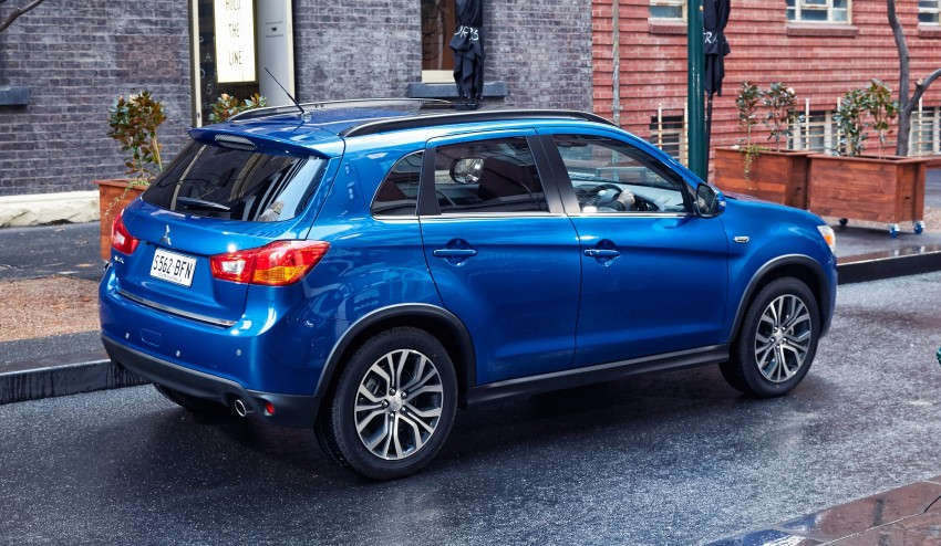 2015 Mitsubishi ASX gets refreshed Down Under Image #346735