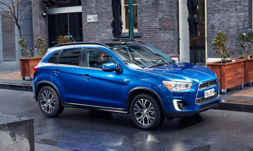 2015 Mitsubishi ASX gets refreshed Down Under Image #346740
