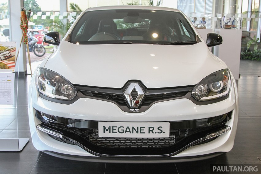 Renault Megane RS 265 Cup on sale in M'sia, RM235k Image #353379