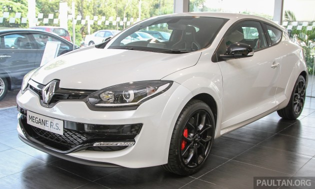 renault megane rs 265 cup officially launched here. Black Bedroom Furniture Sets. Home Design Ideas