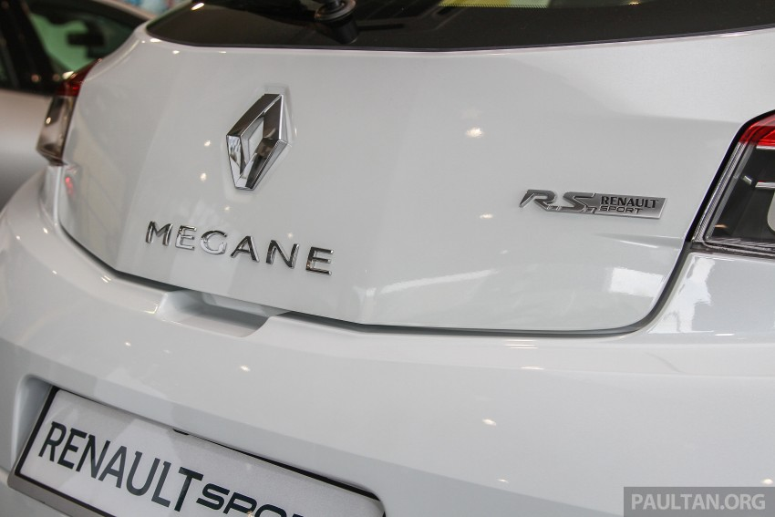 Renault Megane RS 265 Cup on sale in M'sia, RM235k Image #353395