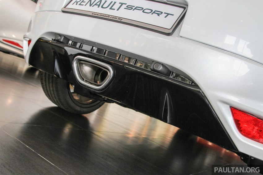 Renault Megane RS 265 Cup on sale in M'sia, RM235k Image #353396