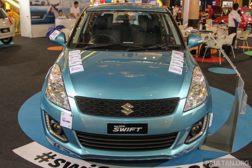 Suzuki Swift facelift officially previewed in Malaysia Image #354396