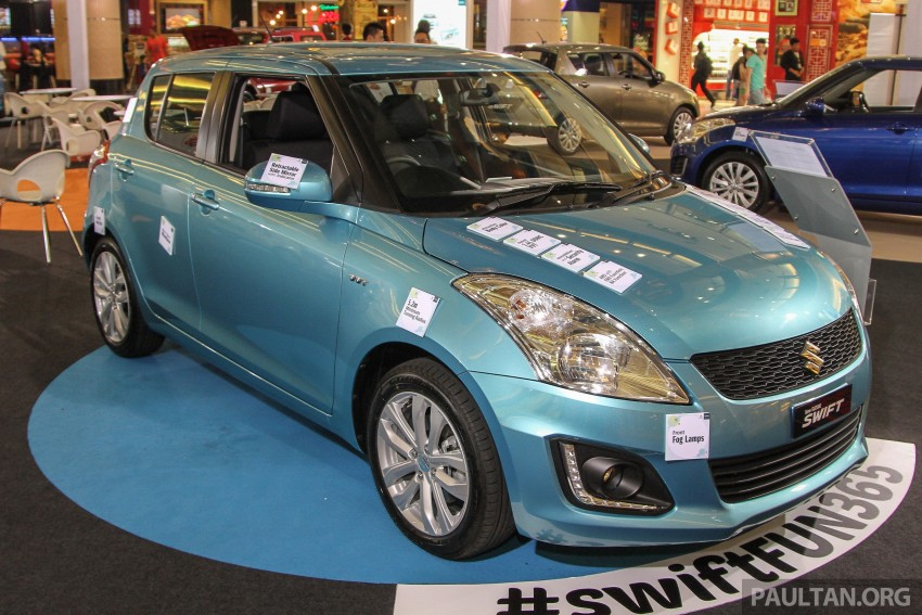 Suzuki Swift facelift officially previewed in Malaysia Image #354397