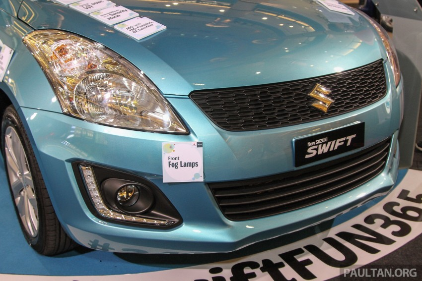 Suzuki Swift facelift officially previewed in Malaysia Image #354399