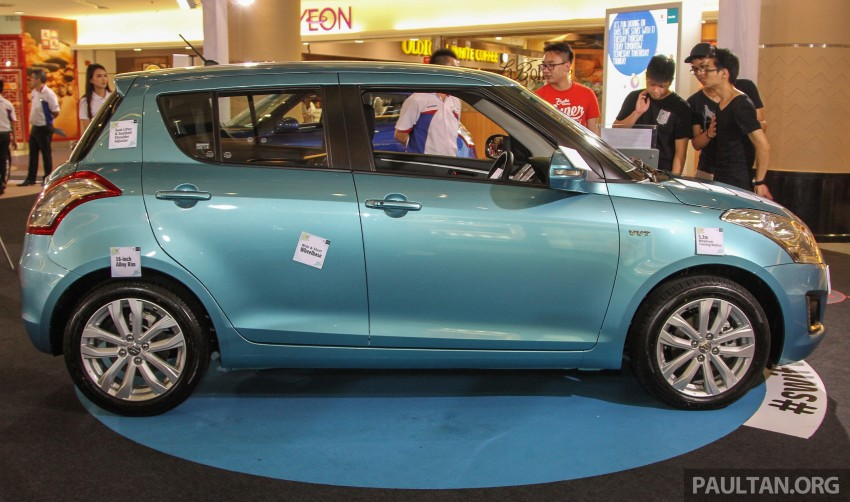 Suzuki Swift facelift officially previewed in Malaysia Image #354401