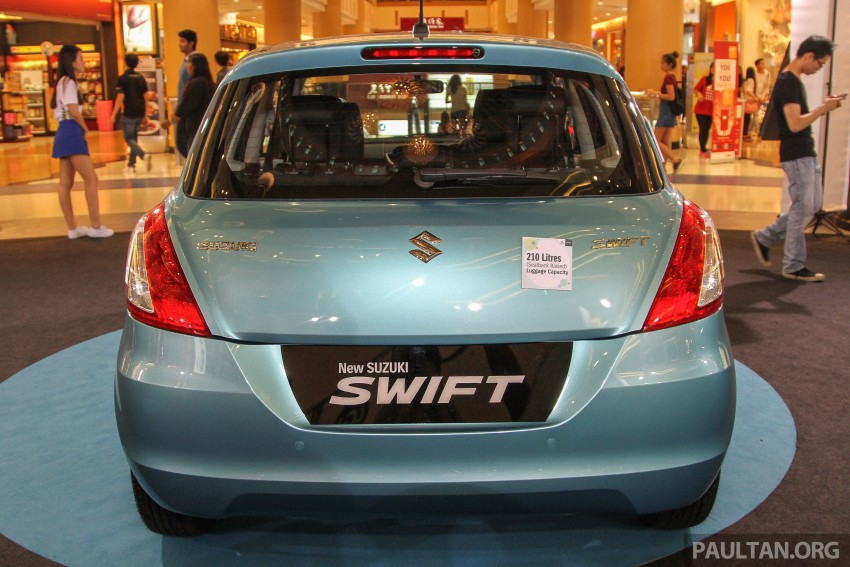 Suzuki Swift facelift officially previewed in Malaysia Image #354406