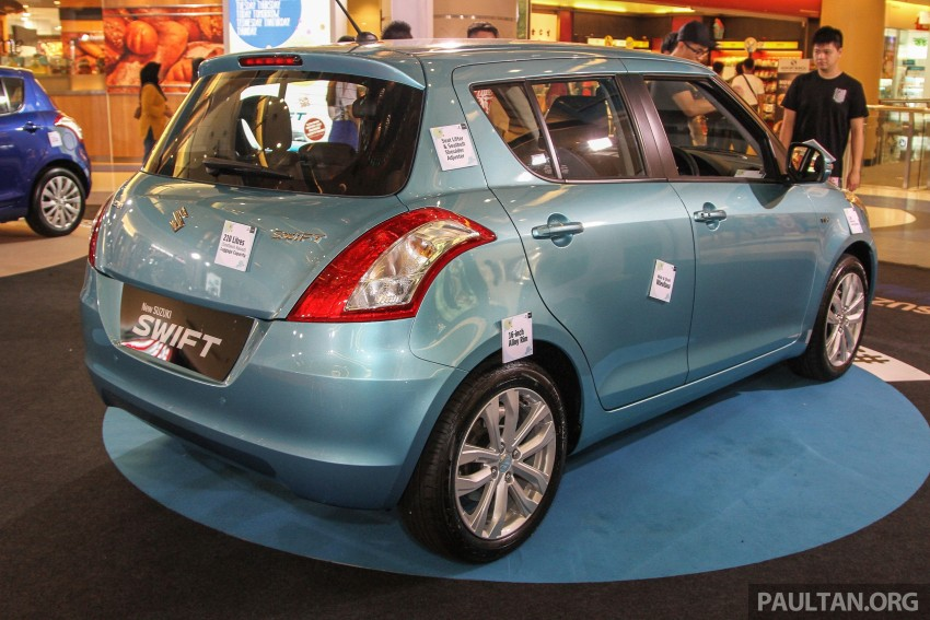 Suzuki Swift facelift officially previewed in Malaysia Image #354407
