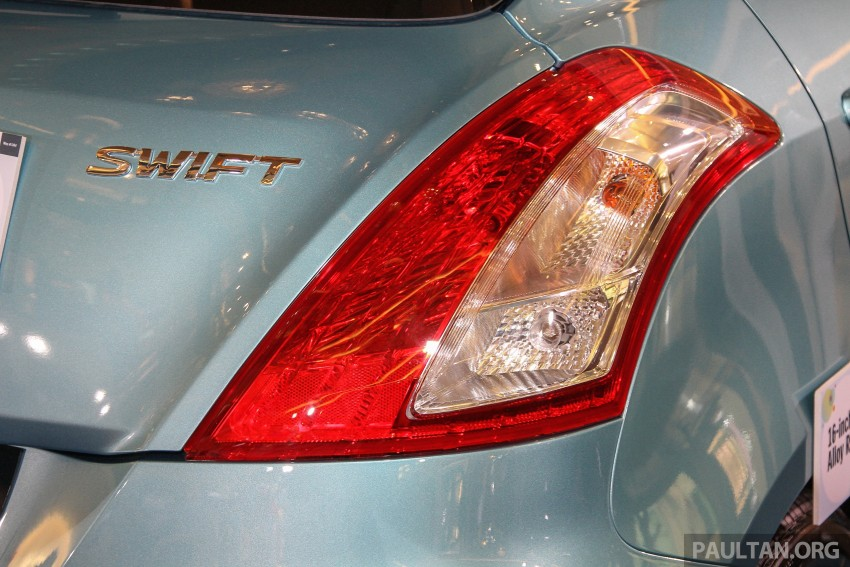 Suzuki Swift facelift officially previewed in Malaysia Image #354408