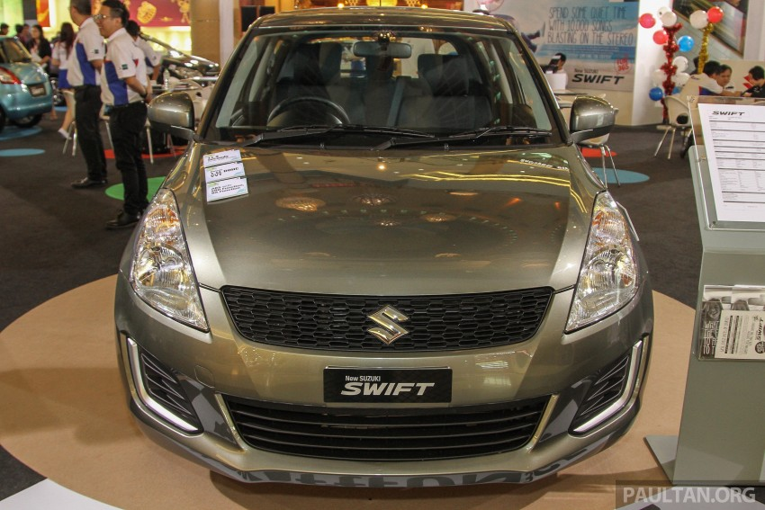 Suzuki Swift facelift officially previewed in Malaysia Image #354434