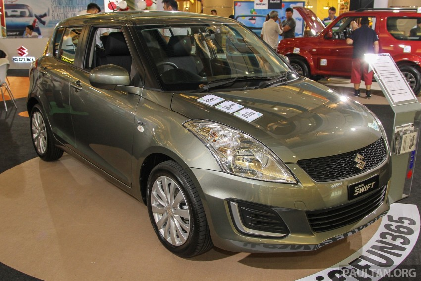 Suzuki Swift facelift officially previewed in Malaysia Image #354435