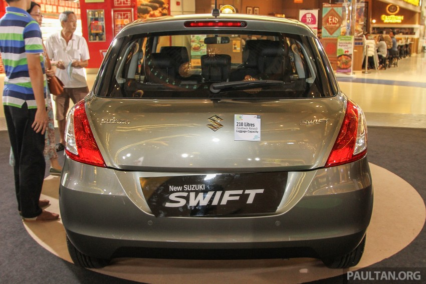 Suzuki Swift facelift officially previewed in Malaysia Image #354444