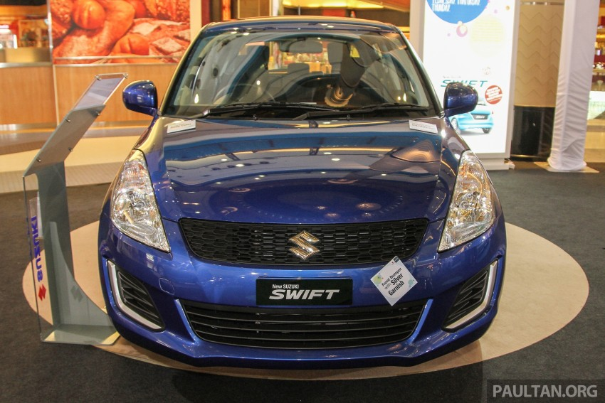 Suzuki Swift facelift officially previewed in Malaysia Image #354450