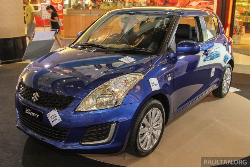 Suzuki Swift facelift officially previewed in Malaysia Image #354451
