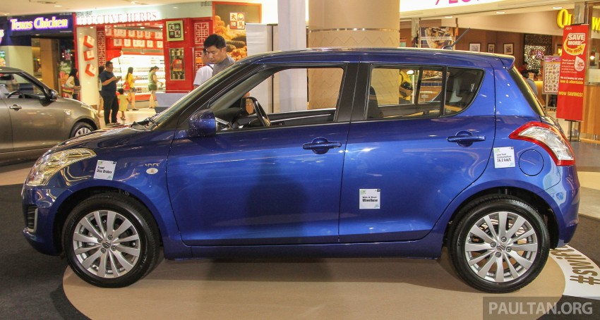 Suzuki Swift facelift officially previewed in Malaysia Image #354452