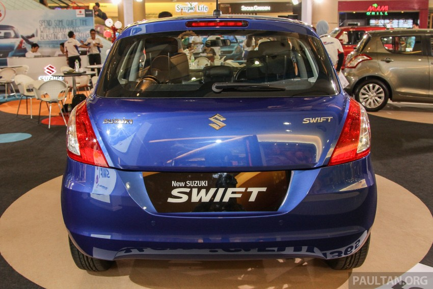 Suzuki Swift facelift officially previewed in Malaysia Image #354453
