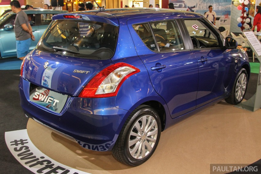 Suzuki Swift facelift officially previewed in Malaysia Image #354454