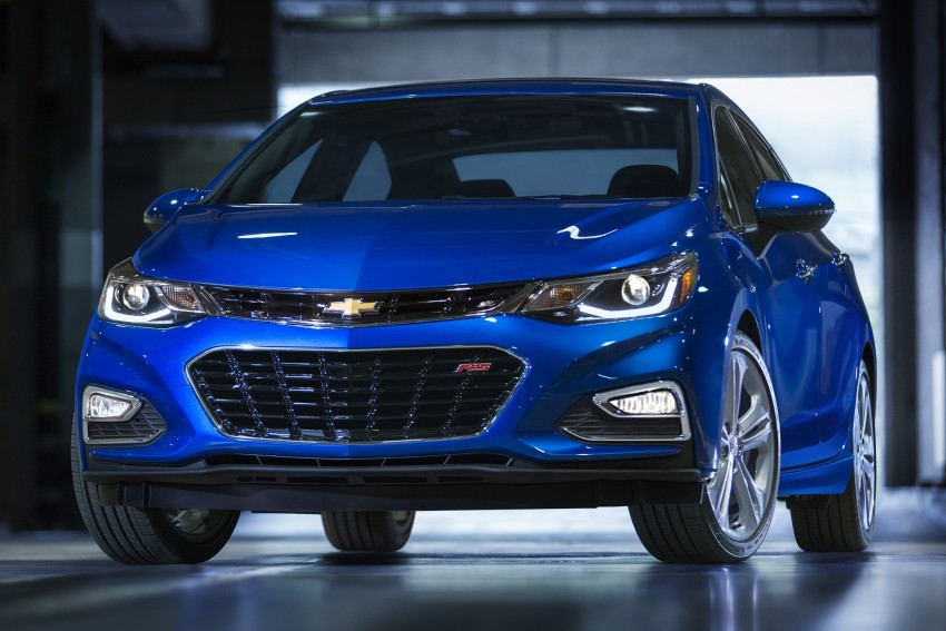 2016 Chevrolet Cruze unveiled for the global market Image #354117